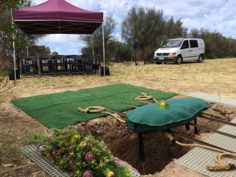 Natural Earth Burial Funeral Services in Adelaide