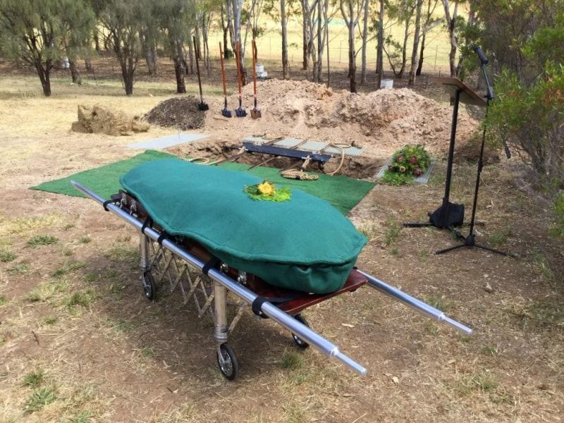 natural earth burial